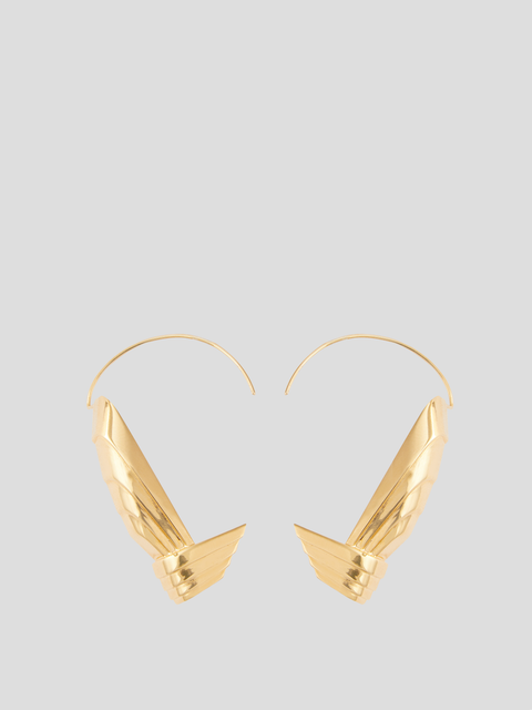 Susan Gold-Plated Brass Earring Cuffs