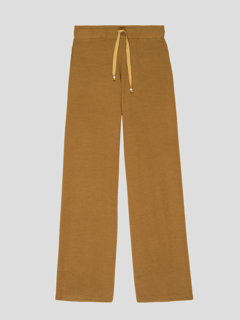 Dijon Sweater Cropped Flared Sweatpant