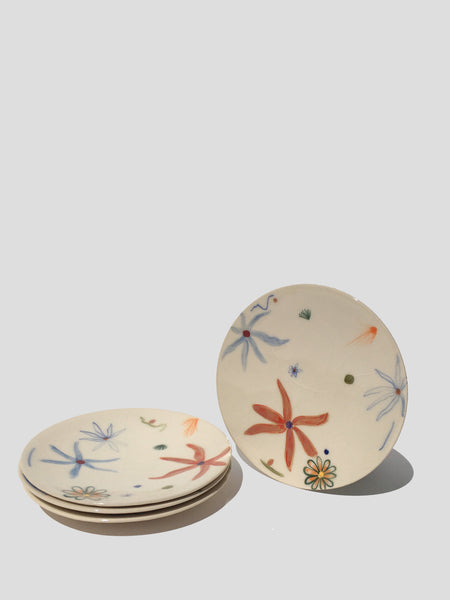 Hand-Painted Salad Plates