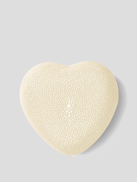 Shagreen Heart Box