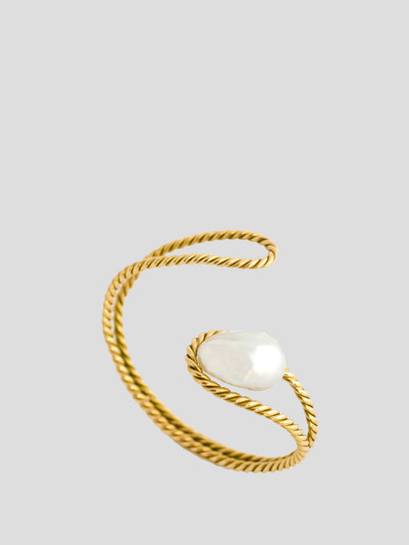 South Sea Pearl 18k Yellow Gold Bracelet