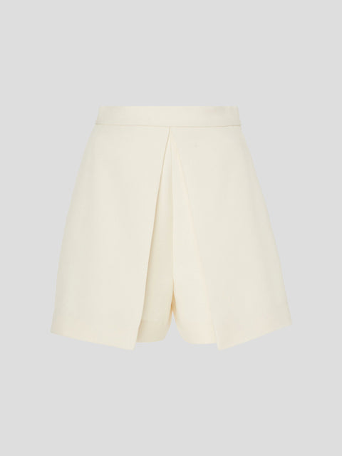 Tailored Overlay Shorts