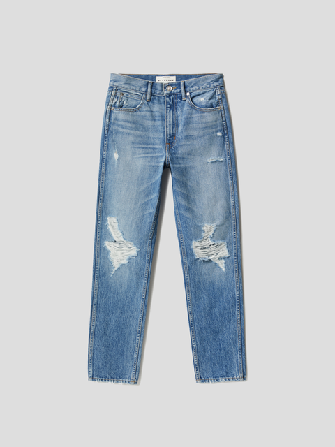 Virginia Slim Rolling Waters High Rise Tapered Leg Jean