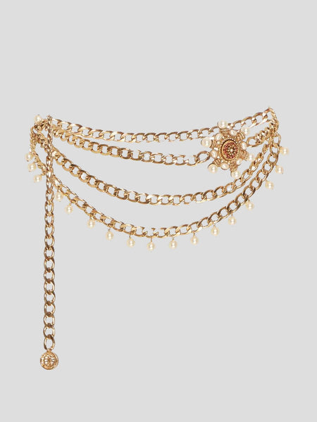 Valeria Gold Chain Belt