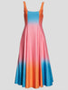 Wells Dip-Dye Poplin Midi Dress,Staud,- Fivestory New York