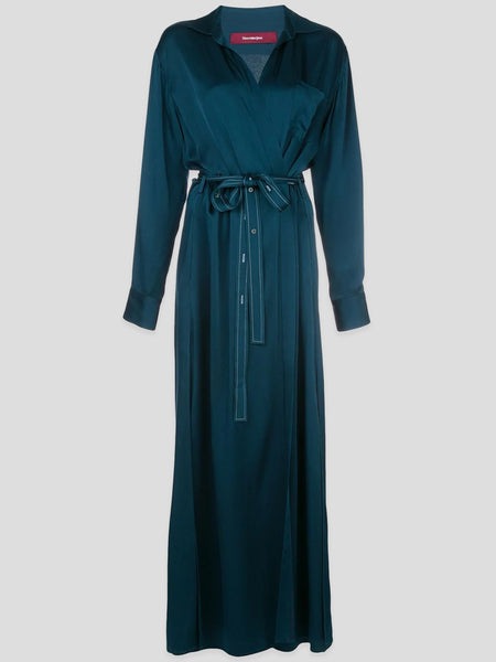 Aviva Satin Wrap Maxi Dress,Sies Marjan,- Fivestory New York