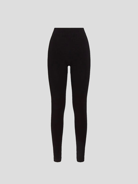 Aurora Black Opaque Leggings
