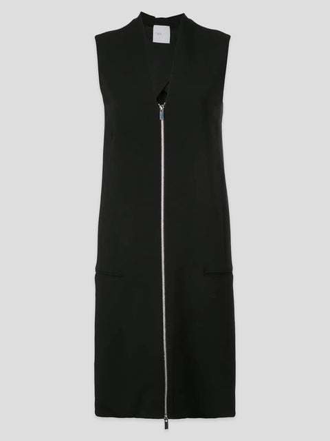 Zipper Front Shift Dress,Rosetta Getty,- Fivestory New York