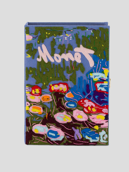 Monet Book Clutch