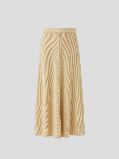 Egyptian Cotton Ivory Skirt