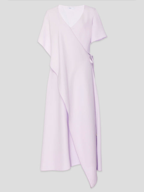Panel Wrap Midi Dress,Rosetta Getty,- Fivestory New York