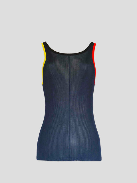 Primary Maggie Navy Knit Tank