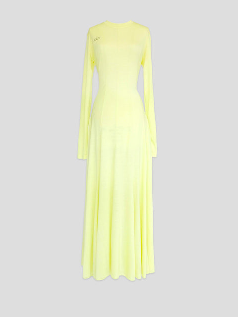 Squid Yellow Dress