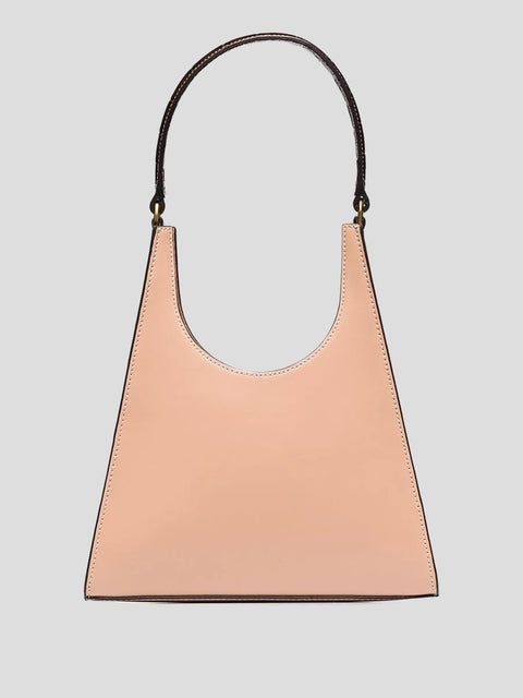 Rey Handle Patent Shoulder Bag,Staud,- Fivestory New York