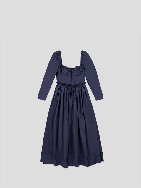 Winter Garden Party Long Sleeve Dress