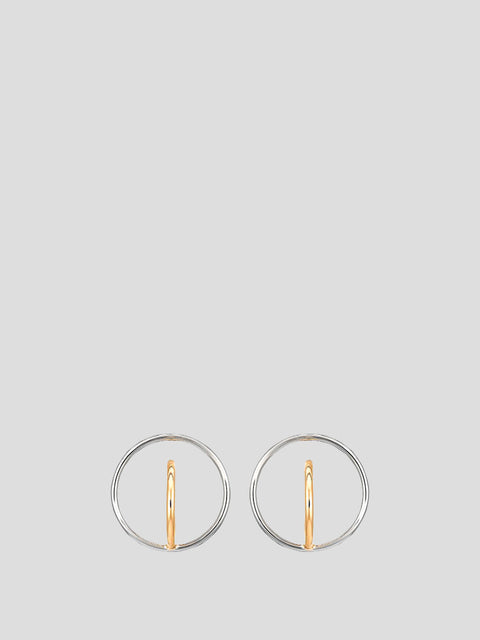 Small Saturn Earrings