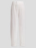 Sequin Drawstring Straight Pant,Rosetta Getty,- Fivestory New York