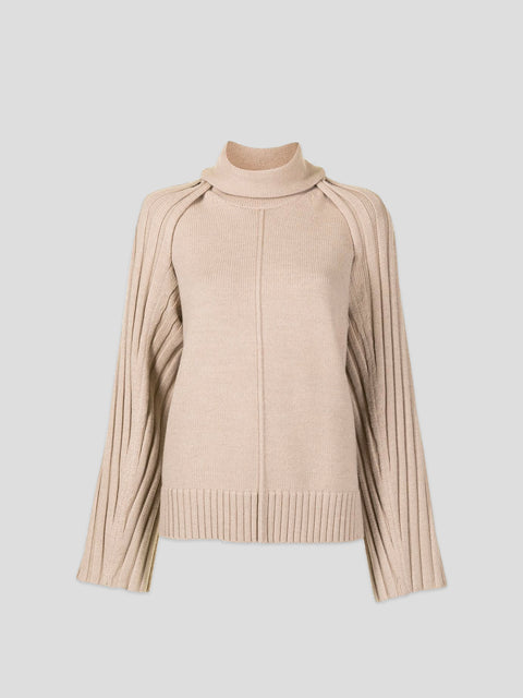 Grace Beige Sweater