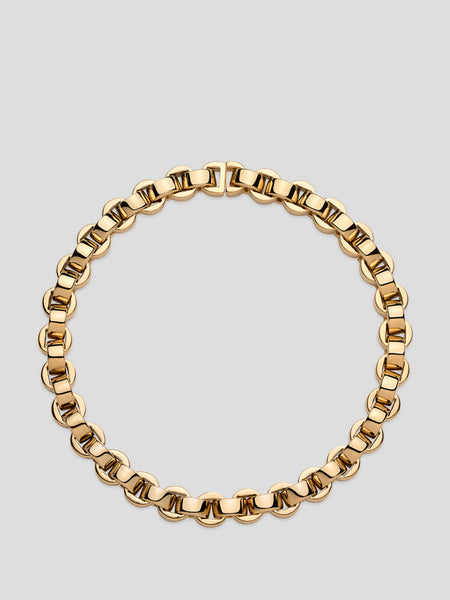 Ascender Gold Plated Link Necklace