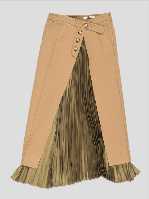 Reiken Brown Skirt