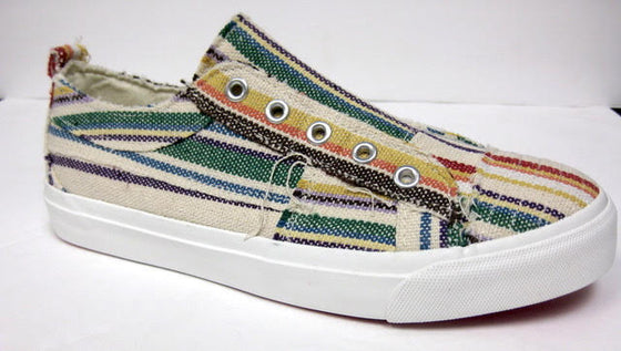 Corkys Women's Babalu Casual Slip On Sneaker Multi Stripes 51-0121