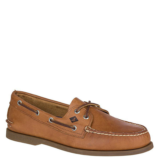 Sperry Men's A/O 2-Eye Boat Shoe - Sahara 0197640 - ShoeShackOnline