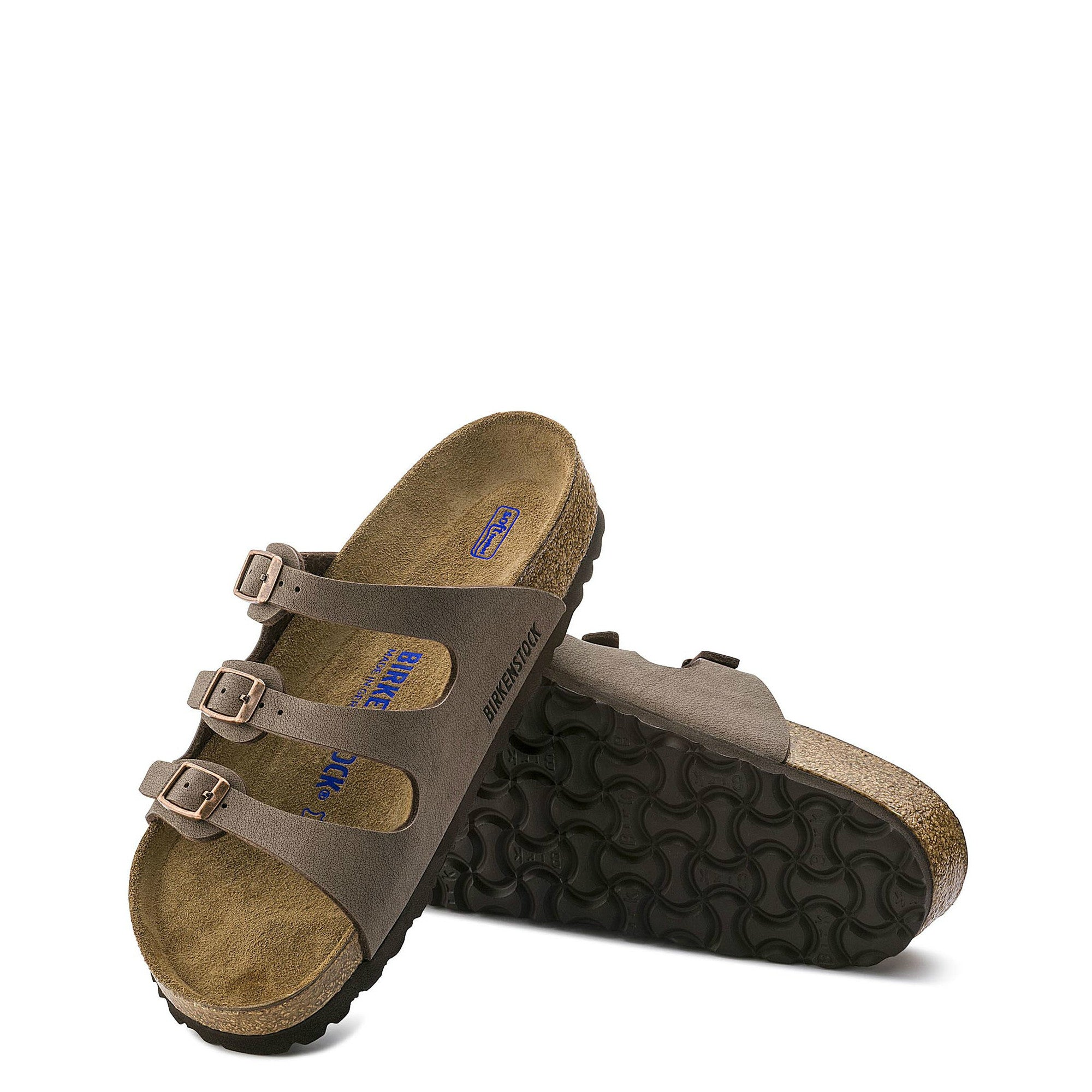 8727511510d0 Birkenstock Women s Florida Soft Footbed - Mocha