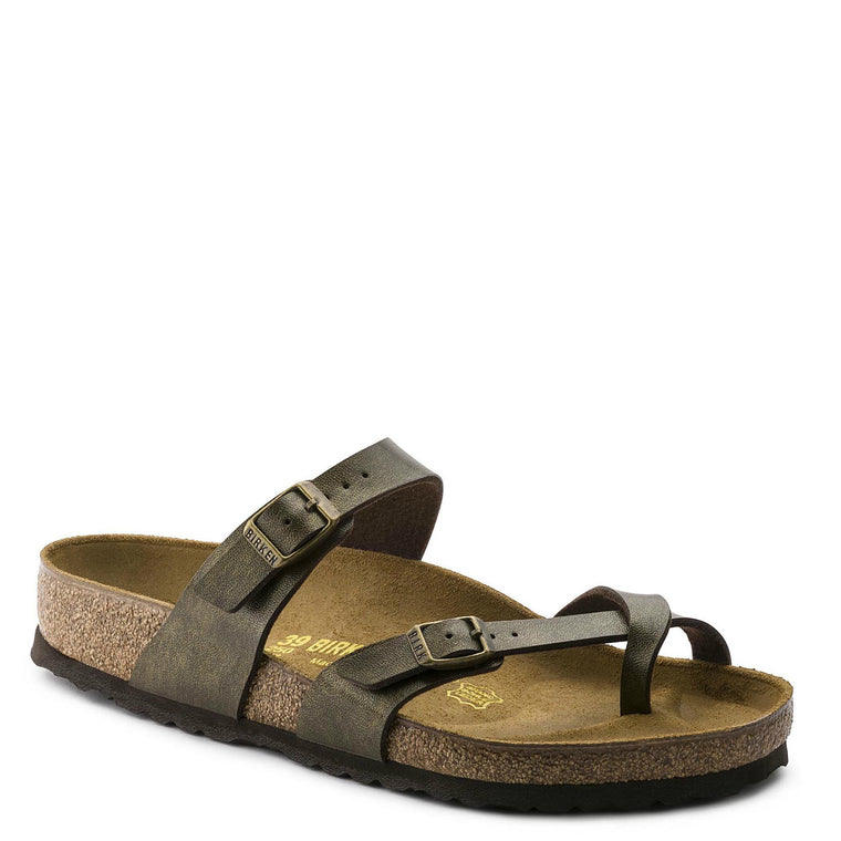 Birkenstock Women's Mayari Birko-Flor - Golden Brown 071041 - ShoeShackOnline