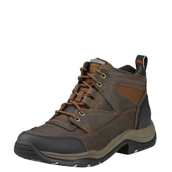 Ariat Men's Terrain Endurance Hiking Boot - Distressed Brown 10002182 - ShoeShackOnline