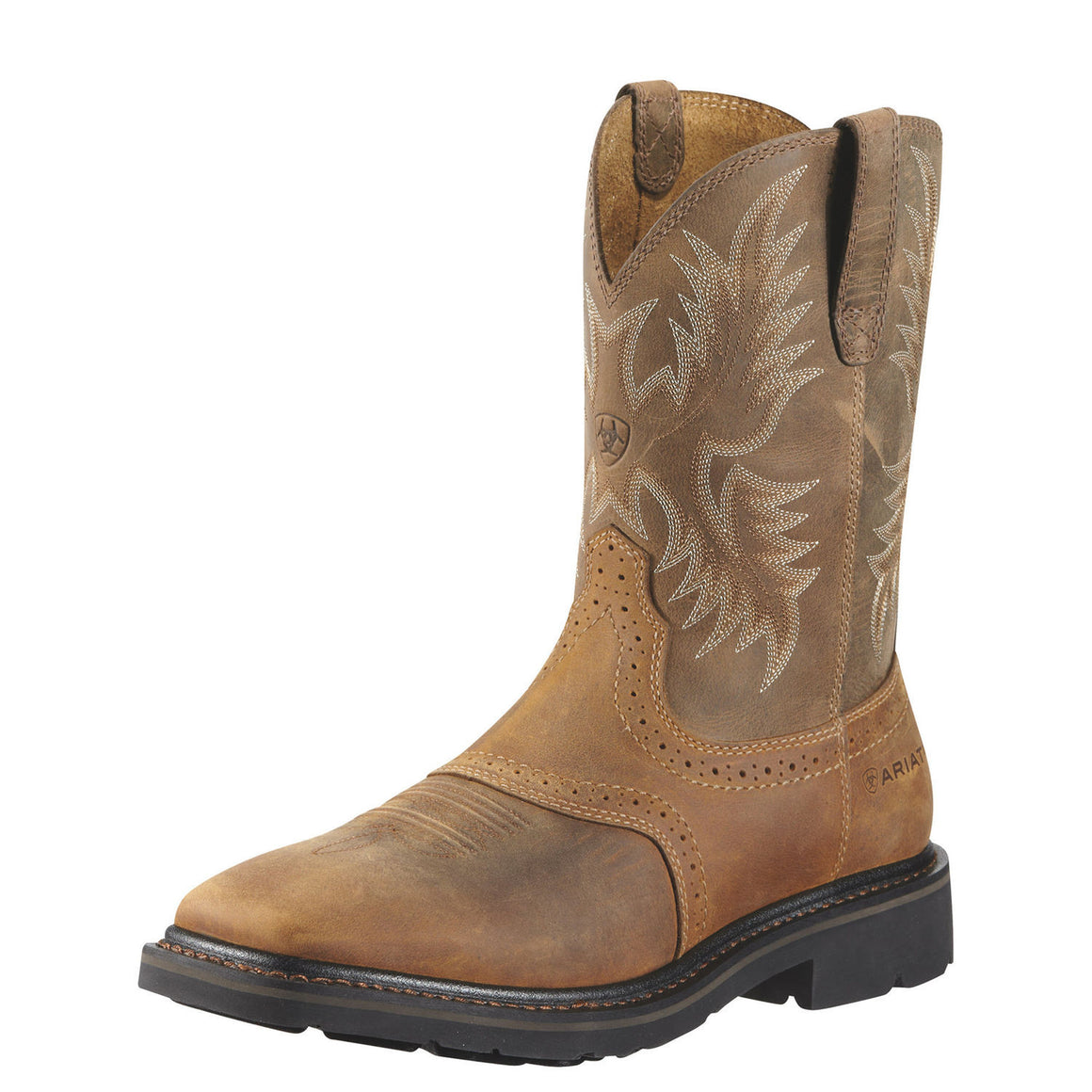 Ariat Men's Sierra Square Toe - Aged Bark 10010148