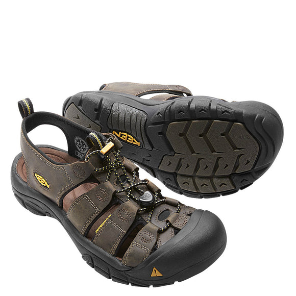 Keen Men's Newport Sandal - Bison 1001870 - ShoeShackOnline