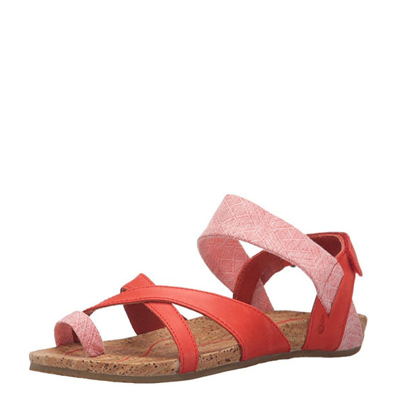 Ahnu Women's Sananda Sandal - Red Stone 1010858 - ShoeShackOnline
