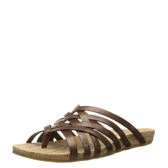 Ahnu Women's Maia Thong Sandal - Brandy 1010919 - ShoeShackOnline