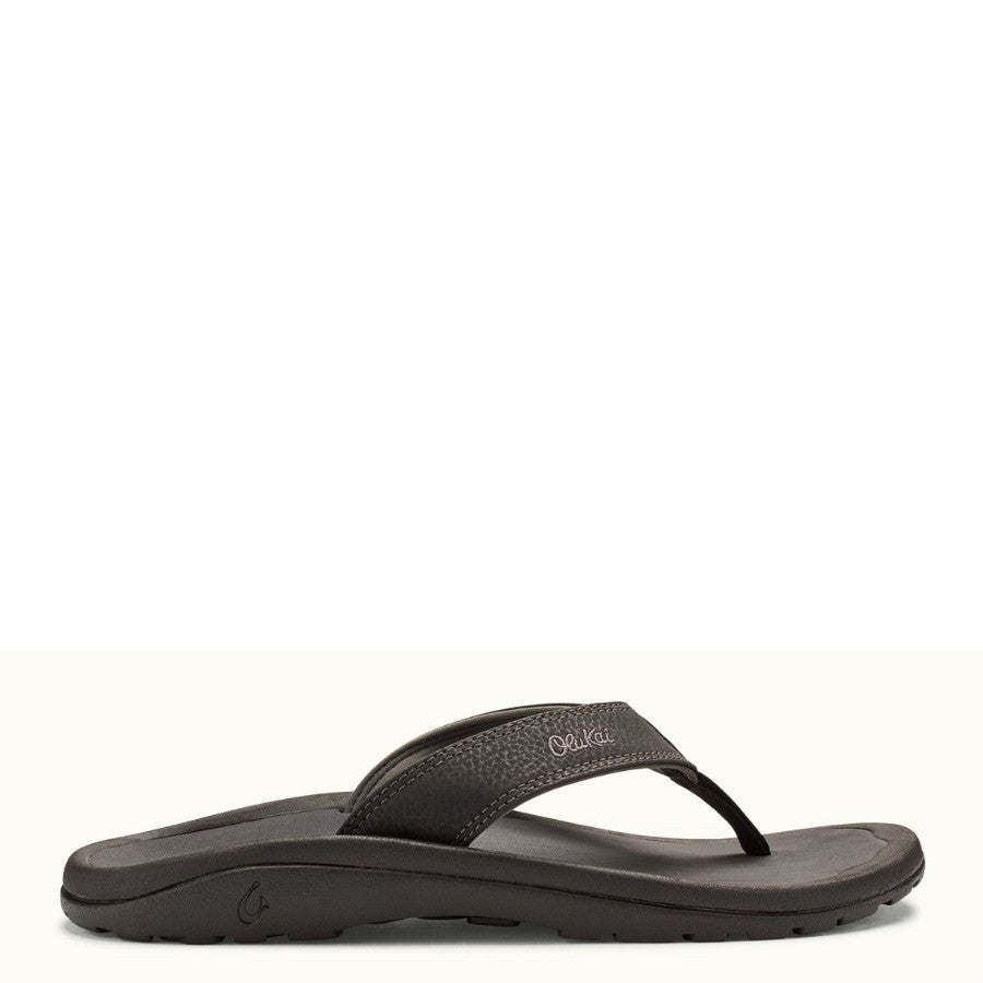 Olukai Men's 'Ohana Sandal - Black/Dark Shadow 10110-4042