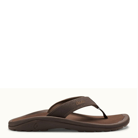 Olukai Men's 'Ohana Sandal - Dark Java/Ray 10110-4827 - ShoeShackOnline
