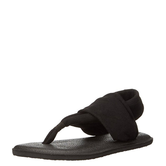 Sanuk Kid's Yoga Sling Burst - Black 1011416K