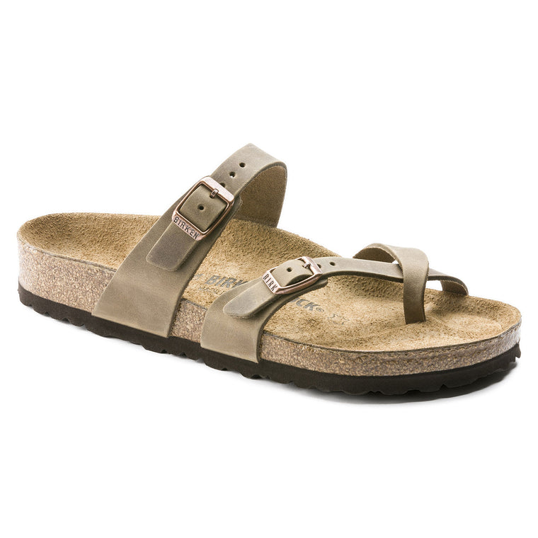 Birkenstock Women's Mayari - Tobacco | Oiled Leather 1011433 - ShoeShackOnline