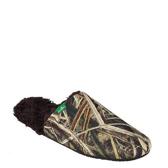 Sanuk Men's Half Dome Blades Slipper - Mossy Oak 1011921 - ShoeShackOnline