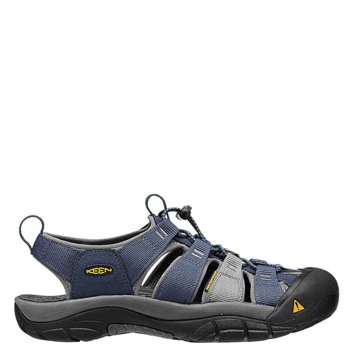 7e3cf08fc443 Keen Men s Newport H2 Sandal - Midnight Navy Neutral Gray 1012206 -  ShoeShackOnline