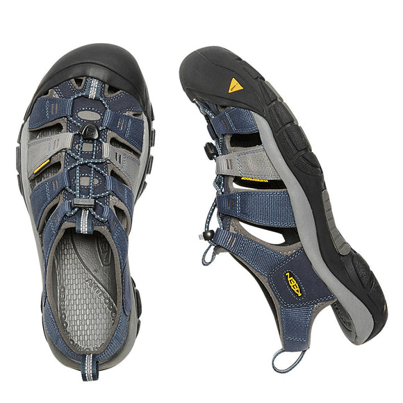 Keen Men's Newport H2 Sandal - Midnight Navy/Neutral Gray 1012206