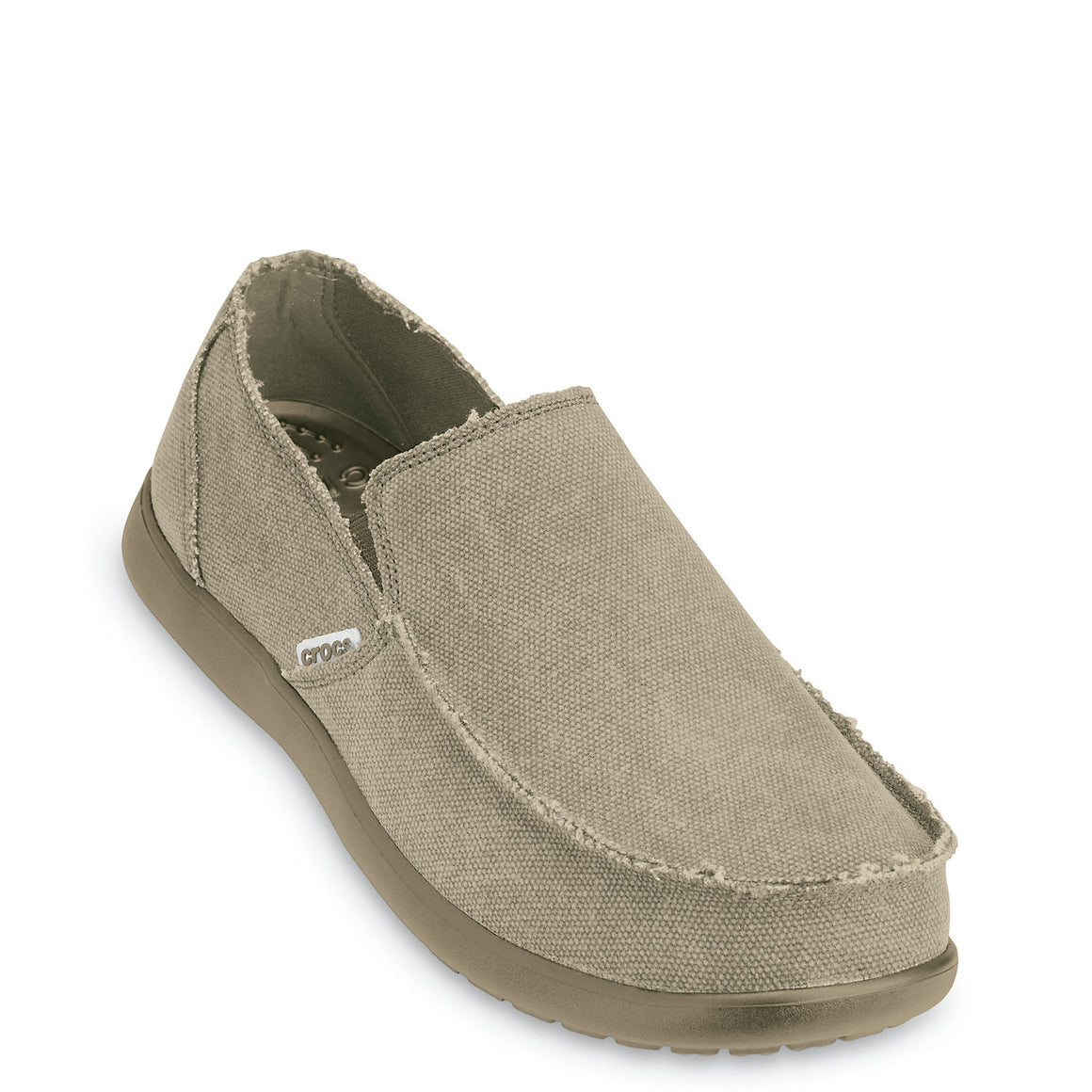 Crocs Men's Santa Cruz Loafer - Khaki 10128-261 - ShoeShackOnline