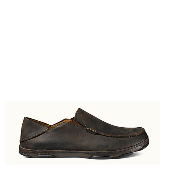 Olukai Men's Moloa Slip On - Dark Wood/Dark Java 10128-6348