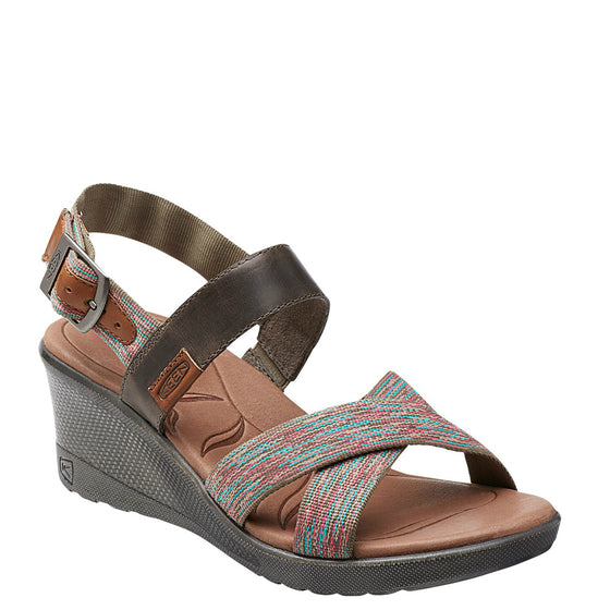Keen Women's Skyline Wedge - Brindle 1014313 - ShoeShackOnline