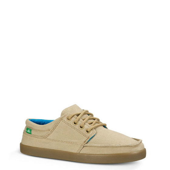 Sanuk Boy's Lil TKO Shoes - Tan 1014602Y - ShoeShackOnline