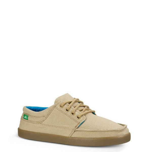 Sanuk Boy's Lil TKO Shoes - Tan 1014602Y