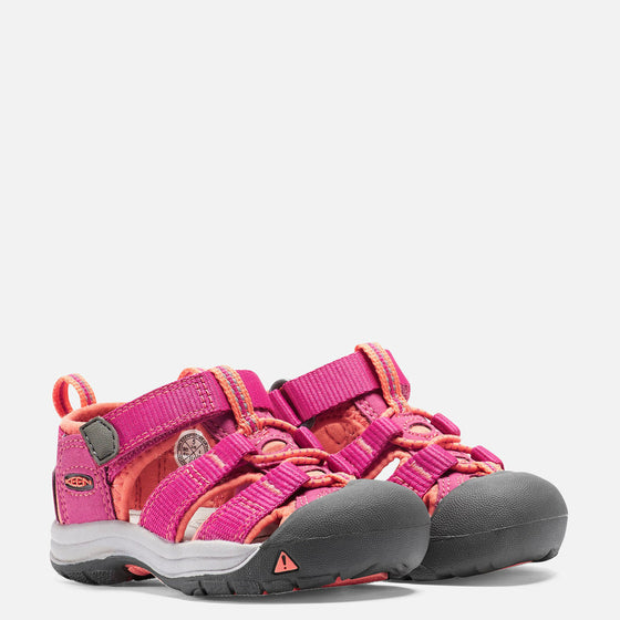 Keen Toddler's Newport H2 Sandal - Very Berry/Fusion Coral 1014736 - ShoeShackOnline