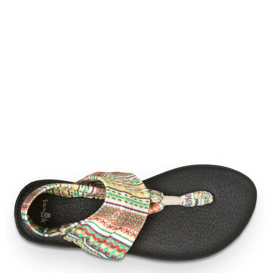 Sanuk Women's Yoga Sling 2 Prints - Citrus Lanai Blanket 1016459 - ShoeShackOnline