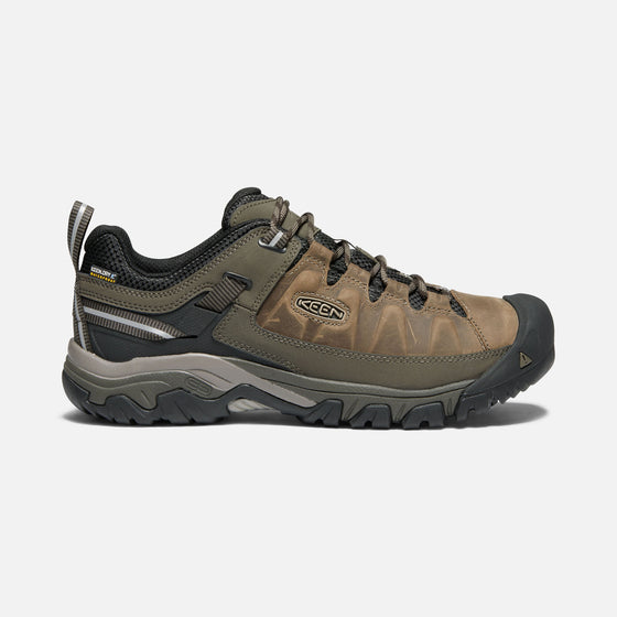 Keen Men's Targhee III Waterproof Hiking Shoe - Bungee Cord/Black 1017783 - ShoeShackOnline