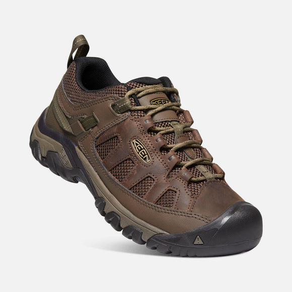 Keen Men's Targhee Vent Hiking Shoe - Cuban/Antique Bronze 1018577 - ShoeShackOnline