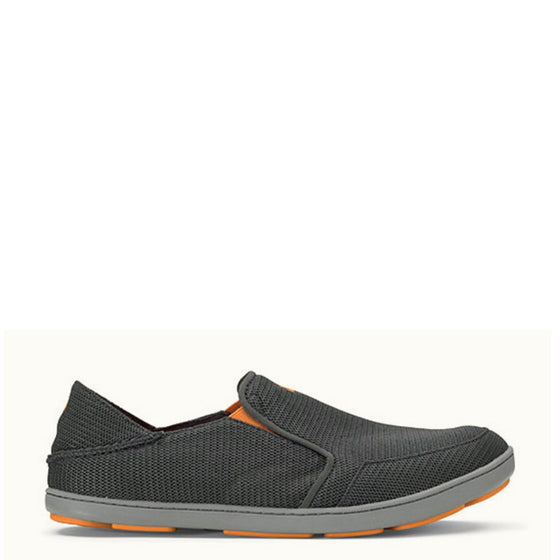 Olukai Men's Nohea Mesh Slip On - Dark Shadow 10188-4242 - ShoeShackOnline
